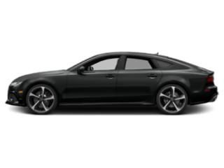 Mythos Black Metallic 2018 Audi RS 7 Pictures RS 7 Sedan 4D RS7 Performance AWD photos side view