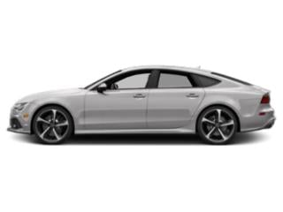 Florett Silver Metallic 2018 Audi RS 7 Pictures RS 7 Sedan 4D RS7 Performance AWD photos side view