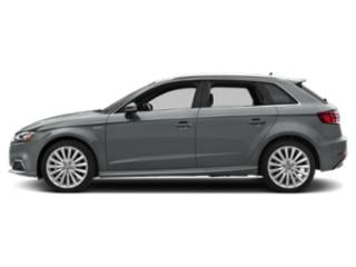 Monsoon Gray Metallic 2018 Audi A3 Sportback e-tron Pictures A3 Sportback e-tron Hatchback 5D E-tron Prestige photos side view