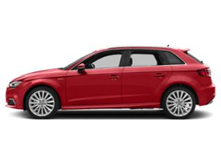 Tango Red Metallic 2018 Audi A3 Sportback e-tron Pictures A3 Sportback e-tron Hatchback 5D E-tron Prestige photos side view