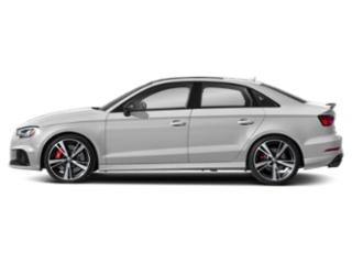 Glacier White Metallic 2018 Audi RS 3 Pictures RS 3 Sedan 4D RS3 AWD photos side view