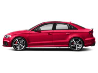 Catalunya Red Metallic 2018 Audi RS 3 Pictures RS 3 Sedan 4D RS3 AWD photos side view