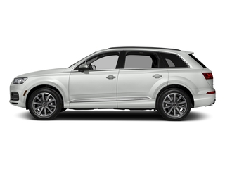 Carrara White 2018 Audi Q7 Pictures Q7 3.0 TFSI Prestige photos side view