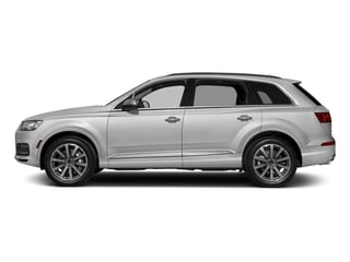 Glacier White Metallic 2018 Audi Q7 Pictures Q7 3.0 TFSI Prestige photos side view
