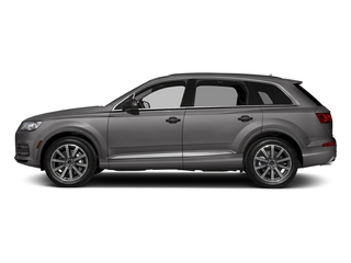 Graphite Gray Metallic 2018 Audi Q7 Pictures Q7 2.0 TFSI Premium Plus photos side view