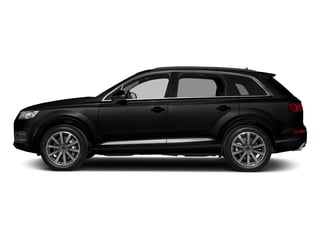 Night Black 2018 Audi Q7 Pictures Q7 2.0 TFSI Premium photos side view