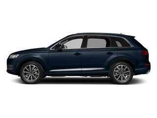 Ink Blue Metallic 2018 Audi Q7 Pictures Q7 2.0 TFSI Premium photos side view