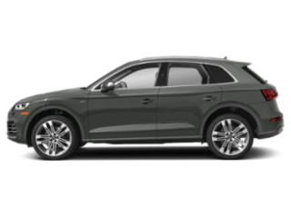Daytona Gray Pearl Effect 2018 Audi SQ5 Pictures SQ5 3.0 TFSI Prestige photos side view