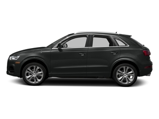 Mythos Black Metallic 2018 Audi Q3 Pictures Q3 2.0 TFSI Sport Premium Plus FWD photos side view