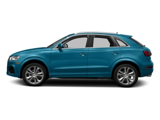 Hainan Blue Metallic 2018 Audi Q3 Pictures Q3 2.0 TFSI Sport Premium Plus FWD photos side view