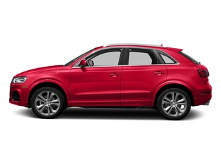 Misano Red Pearl Effect 2018 Audi Q3 Pictures Q3 2.0 TFSI Sport Premium Plus FWD photos side view