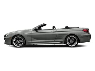 Space Gray Metallic 2018 BMW 6 Series Pictures 6 Series 650i xDrive Convertible photos side view