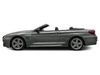 Space Gray Metallic 2018 BMW 6 Series Pictures 6 Series 640i Convertible photos side view