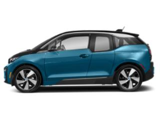 Protonic Blue Metallic w/Frozen Gray Accent 2018 BMW i3 Pictures i3 Hatchback 4D S w/Range Extender photos side view