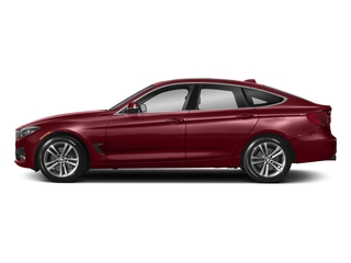 Melbourne Red Metallic 2018 BMW 3 Series Pictures 3 Series 340i xDrive Gran Turismo photos side view