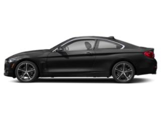 Jet Black 2018 BMW 4 Series Pictures 4 Series Coupe 2D 430i photos side view