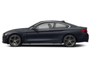 Imperial Blue Metallic 2018 BMW 4 Series Pictures 4 Series Coupe 2D 430i photos side view
