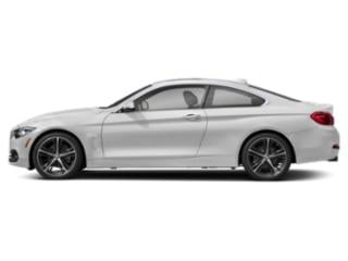 Mineral White Metallic 2018 BMW 4 Series Pictures 4 Series Coupe 2D 430i photos side view
