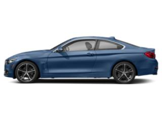 Estoril Blue Metallic 2018 BMW 4 Series Pictures 4 Series Coupe 2D 430i photos side view