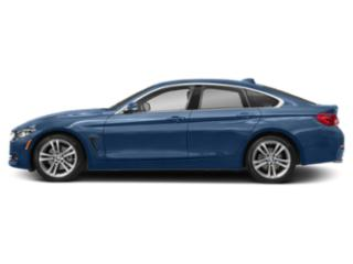 Estoril Blue Metallic 2018 BMW 4 Series Pictures 4 Series Sedan 4D 430xi AWD photos side view