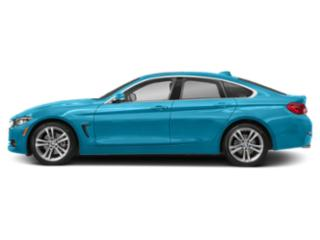 Snapper Rocks Blue Metallic 2018 BMW 4 Series Pictures 4 Series Sedan 4D 430xi AWD photos side view