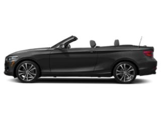 Black Sapphire Metallic 2018 BMW 2 Series Pictures 2 Series Convertible 2D 230xi AWD photos side view