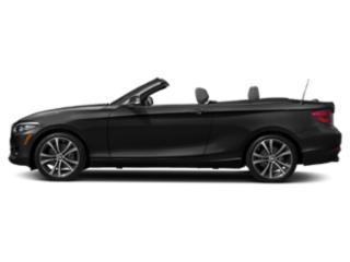 Jet Black 2018 BMW 2 Series Pictures 2 Series Convertible 2D 230xi AWD photos side view