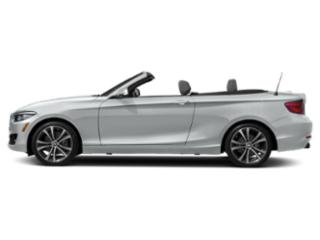 Glacier Silver Metallic 2018 BMW 2 Series Pictures 2 Series Convertible 2D 230xi AWD photos side view