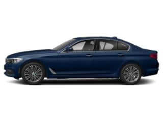 Mediterranean Blue Metallic 2018 BMW 5 Series Pictures 5 Series 540d xDrive Sedan photos side view