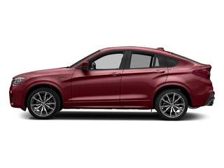 Melbourne Red Metallic 2018 BMW X4 Pictures X4 M40i Sports Activity Coupe photos side view