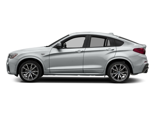 Glacier Silver Metallic 2018 BMW X4 Pictures X4 M40i Sports Activity Coupe photos side view