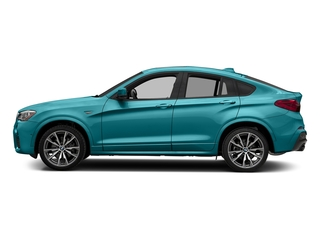 Long Beach Blue Metallic 2018 BMW X4 Pictures X4 M40i Sports Activity Coupe photos side view