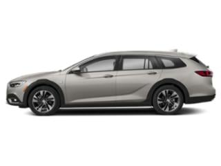 White Frost Tricoat 2018 Buick Regal TourX Pictures Regal TourX Wagon 4D Essence AWD photos side view