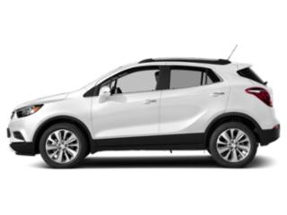 Summit White 2018 Buick Encore Pictures Encore Utility 4D Preferred II 2WD I4 Turbo photos side view