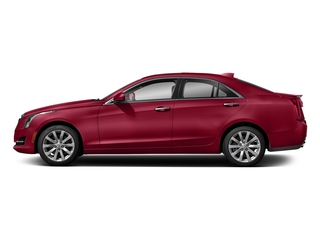 Red Obsession Tintcoat 2018 Cadillac ATS Sedan Pictures ATS Sedan 4D Premium Luxury AWD V6 photos side view