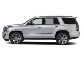 Radiant Silver Metallic 2018 Cadillac Escalade Pictures Escalade Utility 4D Luxury 2WD V8 photos side view
