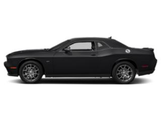 Pitch Black Clearcoat 2018 Dodge Challenger Pictures Challenger GT AWD photos side view