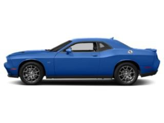 Indigo Blue 2018 Dodge Challenger Pictures Challenger GT AWD photos side view