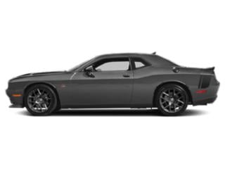 Destroyer Gray Clearcoat 2018 Dodge Challenger Pictures Challenger Coupe 2D R/T Scat Pack V8 photos side view