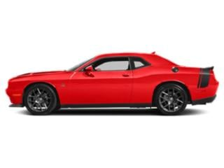 Go Mango 2018 Dodge Challenger Pictures Challenger Coupe 2D R/T Scat Pack V8 photos side view