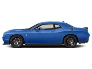 Indigo Blue 2018 Dodge Challenger Pictures Challenger SRT Hellcat Widebody RWD photos side view