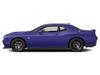 Plum Crazy Pearlcoat 2018 Dodge Challenger Pictures Challenger SRT Hellcat Widebody RWD photos side view