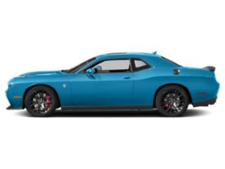B5 Blue Pearlcoat 2018 Dodge Challenger Pictures Challenger SRT Hellcat Widebody RWD photos side view