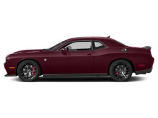 Octane Red Pearlcoat 2018 Dodge Challenger Pictures Challenger SRT Hellcat Widebody RWD photos side view