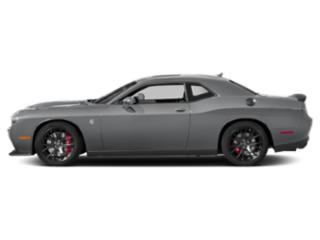 Billet Clearcoat 2018 Dodge Challenger Pictures Challenger SRT Hellcat Widebody RWD photos side view