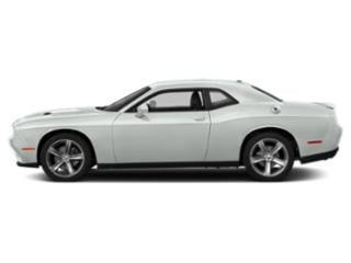 White Knuckle Clearcoat 2018 Dodge Challenger Pictures Challenger SXT RWD photos side view