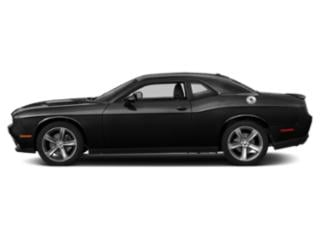 Pitch Black Clearcoat 2018 Dodge Challenger Pictures Challenger Coupe 2D SXT V6 photos side view