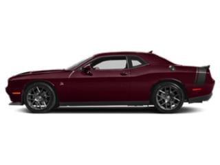 Octane Red Pearlcoat 2018 Dodge Challenger Pictures Challenger 392 Hemi Scat Pack Shaker RWD photos side view