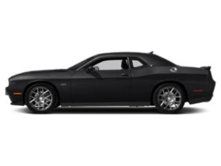 Pitch Black Clearcoat 2018 Dodge Challenger Pictures Challenger R/T Plus Shaker RWD photos side view