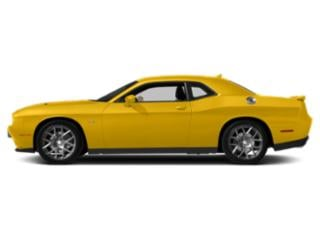 Yellow Jacket Clearcoat 2018 Dodge Challenger Pictures Challenger R/T Plus Shaker RWD photos side view